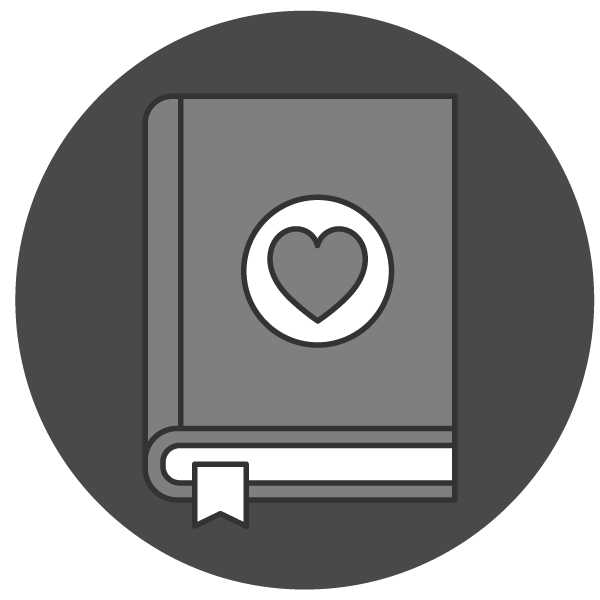 A love of learning icon